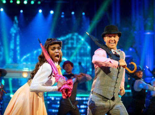 Oti Mabuse and Graeme Swann (Guy Levy/BBC)