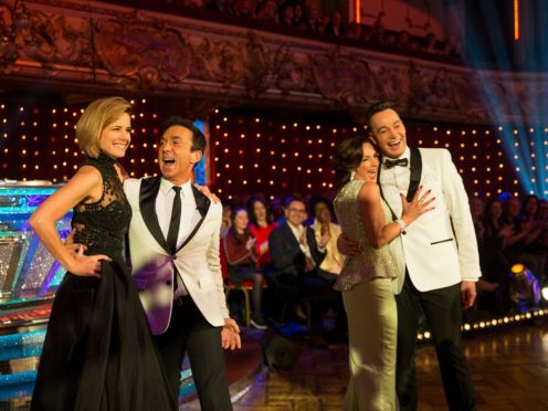 The new feature of the Lindy hop dance caused chaos on Strictly (Guy Levy/BBC)