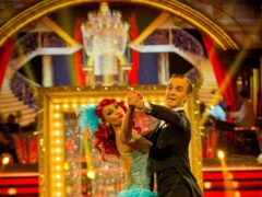 Joe Sugg scored a total of 38 points for his quickstep on last week's episode (Guy Levy/PA)