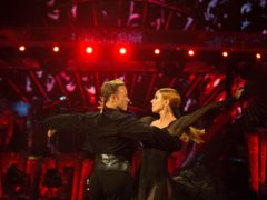 Stacey Dooley and Kevin Clifton on Strictly Come Dancing. (Guy Levy/BBC)