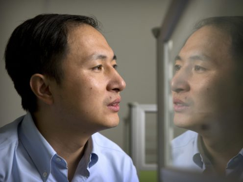 He Jiankui claims he helped make world's first genetically edited babies (AP Photo/Mark Schiefelbein)