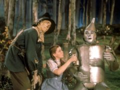A scene from the MGM film The Wizard Of Oz (Tophams/PA)