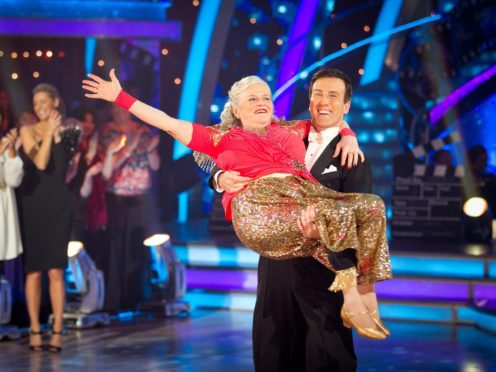 Ann Widdecombe on Strictly (Guy Levy/BBC)