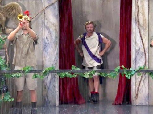 I'm A Celebrity campmates stunned as Noel Edmonds arrives in jungle (ITV/REX/Shutterstock)