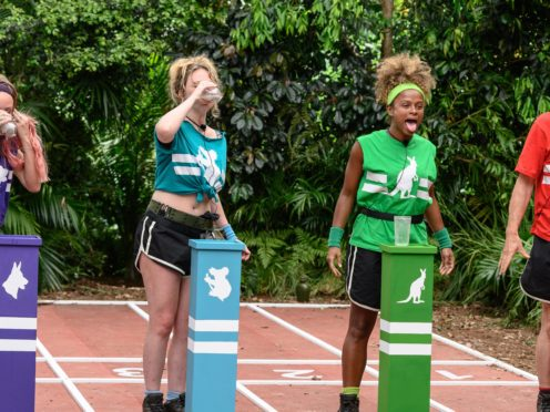 The contestants faced the Rancid Race in tonight's episode (ITV/REX/Shutterstock)