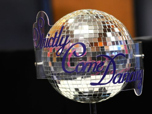 The Strictly Come Dancing trophy (Ian West/PA)