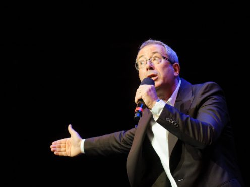 Ben Elton performs at the Prince's Trust Comedy Gala 2012, at the Royal Albert Hall, in central London (Dominic Lipinski/PA)