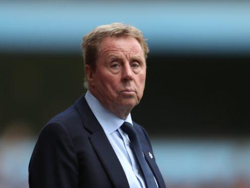 Harry Redknapp began his management career in the 70s (David Davies/PA)