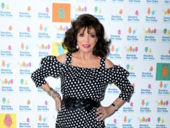 "Dame Joan Collins has said she had a ""transgender moment"" as a teenager (Ian West/PA)"