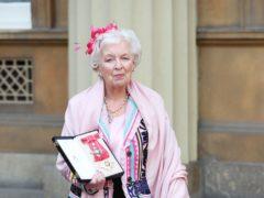 Dame June Whitfield (Jonathan Brady/PA)