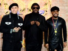 Taboo, Will.I.Am and Apl. De. Ap of the Black Eyed Peas (Ian West/PA)