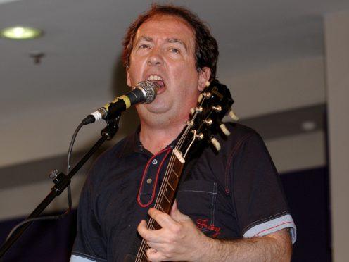 Buzzcocks singer Pete Shelley (Yui Mok/PA)