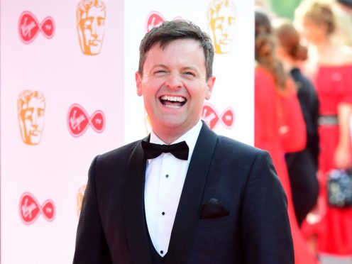 Declan Donnelly told Harry Redknapp there were also rats in the chamber (Ian West/PA)
