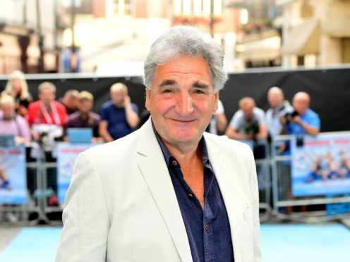 Jim Carter said there are 'mad people' in charge in the modern world (Ian West/PA)