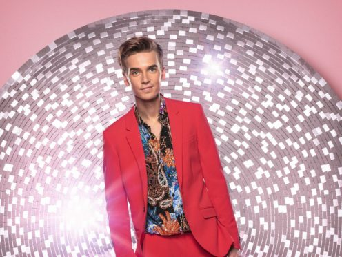 Joe Sugg said he is much more confident about performing (Ray Burmiston/BBC)