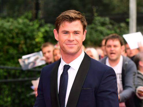 Chris Hemsworth stars in Men In Black International (Ian West/PA)
