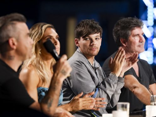 Robbie Williams, Ayda Williams, Louis Tomlinson and Simon Cowell will decide who wins this series of the X Factor (Tom Dymond/Syco/Thames TV)