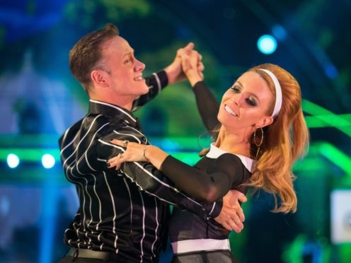 Stacey Dooley with partner Kevin Clifton (Guy Levy/BBC)