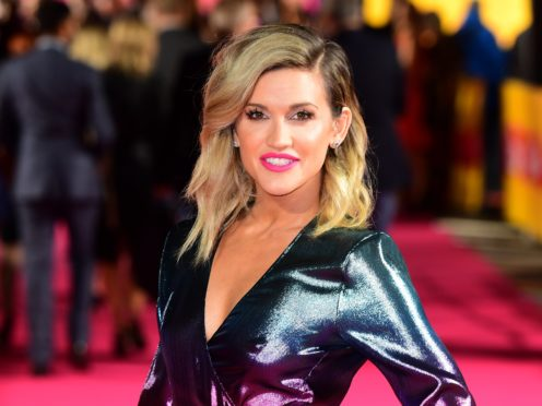 Ashley Roberts has said her father would be proud of her being on Strictly. (Ian West/PA)
