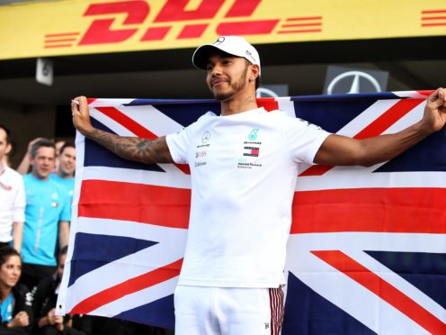 Lewis Hamilton has been honoured for his promotion of a plant-based diet (PA)