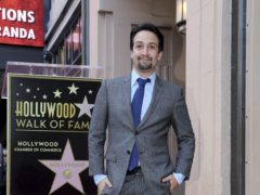 Hamilton creator Lin-Manuel Miranda said he felt like he was in a 'dream' as he was honoured with a star on the Hollywood Walk of Fame (Willy Sanjuan/Invision/AP)