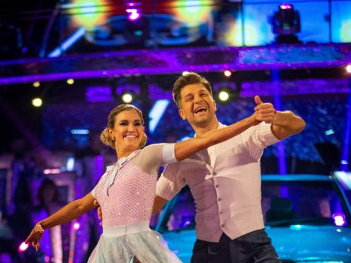 Ashley Roberts has faced criticism over her history in dance (Guy Levy/BBC/PA)