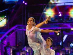 Ashley Roberts and Pasha Kovalev (Guy Levy/BBC)