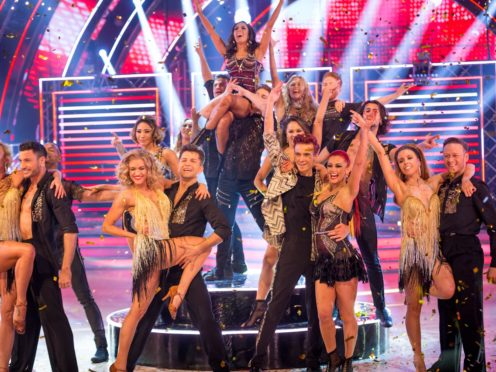 Ashley Roberts opened the Strictly Come Dancing series finale (Guy Levy/BBA/PA)
