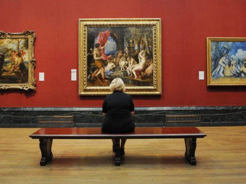 Titian's Diana and Actaeon was saved for the nation in 2009 (Stefan Rousseau/PA)