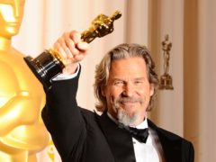 Jeff Bridges' career in film will be recognised with the prestigious Cecil B DeMille Award at the Golden Globes (Ian West/PA)