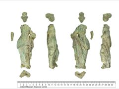 An ancient statue of the Roman god was discovered (British Museum/PA)
