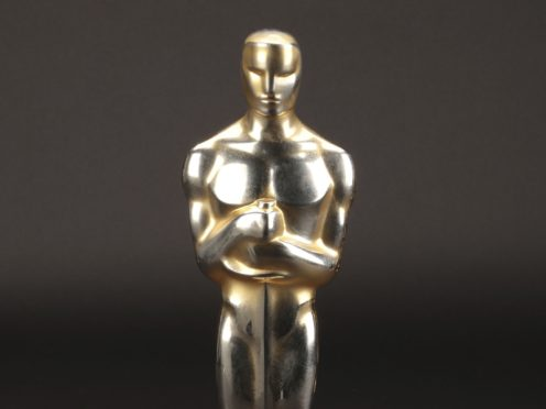 The best-picture Oscar for Gentleman's Agreement (Lou Bustamante/Profiles in History via AP)