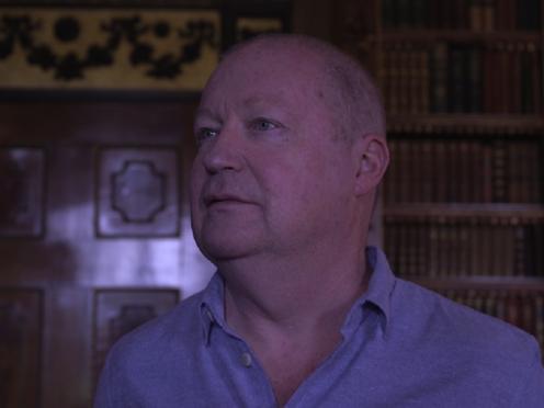 John Lunn speaking at Highclere Castle. (PA)