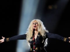 Christina Aguilera spoke out in support of Lady Gaga (Tim Ireland/PA)