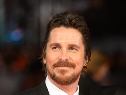 Christian Bale is among the British stars hoping for an Oscar nomination (Dominic Lipinski/PA)