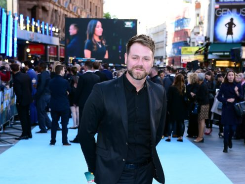 Brian McFadden dislocated his shoulder in a fall (Ian West/PA)