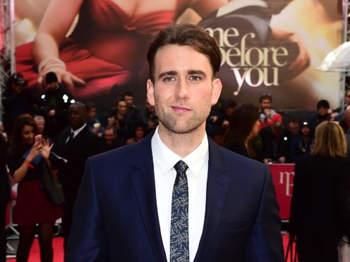 Harry Potter star Matthew Lewis has issued an appeal for a note engraved on metal from his wife after losing his wallet (Ian West/PA Wire)
