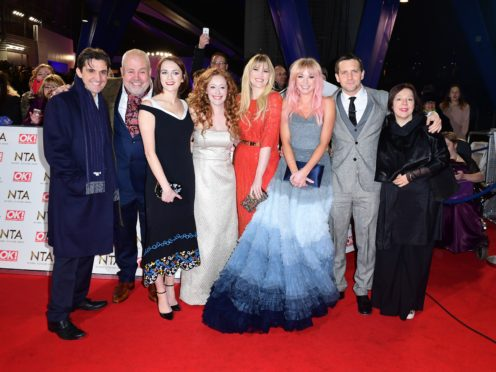 Helen George and the cast of Call The Midwife (PA)