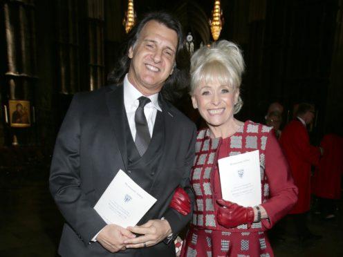 Dame Barbara Windsor apologises to husband every night for Alzheimer's (Yui Mok/PA)