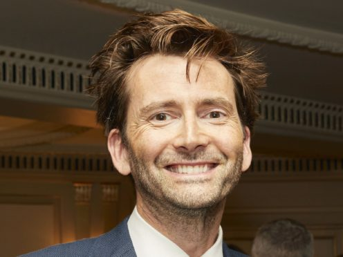 David Tennant will welcome famous names onto the new podcast. (Ian West/PA)