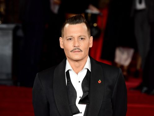 Johnny Depp stars in a new film called Minamata (Ian West/PA)