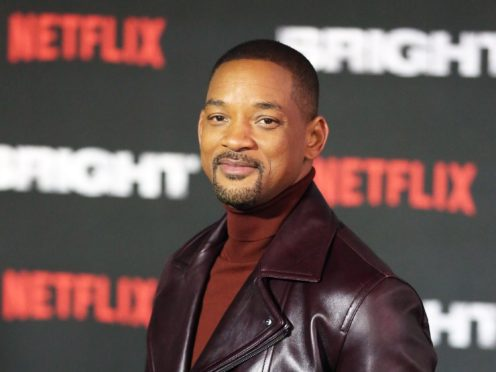 Will Smith shared a photo from the set of Bad Boys 3 (Isabel Infantes/PA)