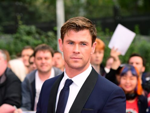 Chris Hemsworth thought he would have to return to a soap opera role (Ian West?PA)