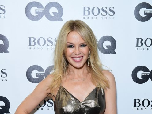 A man has been issued with a harassment warning following a complaint by Kylie Minogue (Ian West/PA)