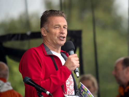 Chris Packham will have 'cheeky words' about hunting when collecting his CBE (Dominic Lipinski/PA)