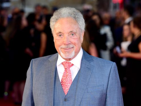 Tom Jones has said one song caused him a lot of pain after the loss of his wife (Ian West/PA)