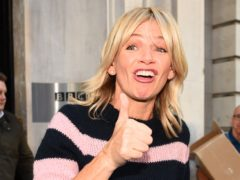Zoe Ball has been named as the first female host of the Radio 2 Breakfast Show, replacing Chris Evans (Kirsty O'Connor/PA)