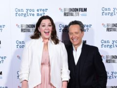 Melissa McCarthy and Richard E. Grant (Ian West/PA)