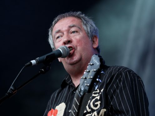 Pete Shelley died in December (Gareth Fuller/PA)