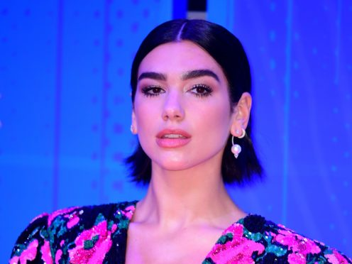 Dua Lipa leads this year's Brit nominations (Ian West/PA)
